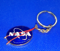 NASA Vector Logo Key Chain - Official